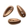 Preciosa Chilli Beads 4X11mm Gold Metallic